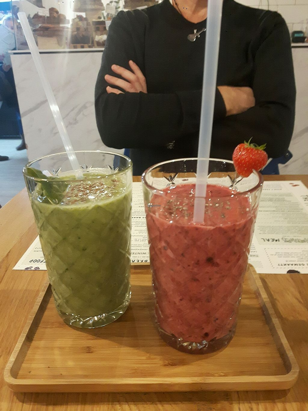 "Photo of The Happiness Kitchen  by <a href=""/members/profile/SusanneVerbeek"">SusanneVerbeek</a> <br/>Healthy and yummie smoothies  <br/> January 6, 2018  - <a href='/contact/abuse/image/92700/343649'>Report</a>"