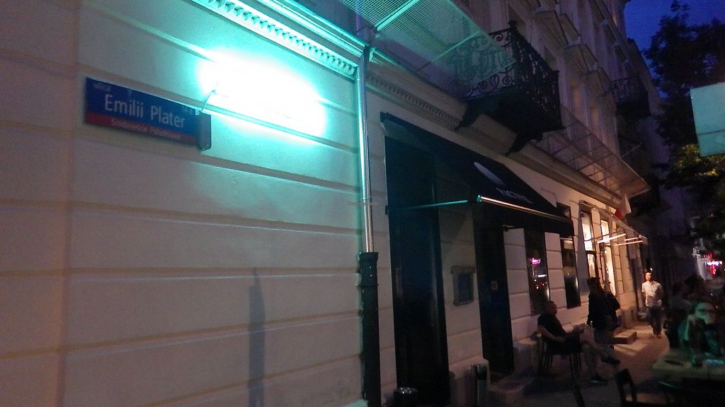 """Photo of Bar Pacyfik  by <a href=""""/members/profile/deadpledge"""">deadpledge</a> <br/>Bar Pacyfik at night <br/> August 11, 2017  - <a href='/contact/abuse/image/92732/291483'>Report</a>"""