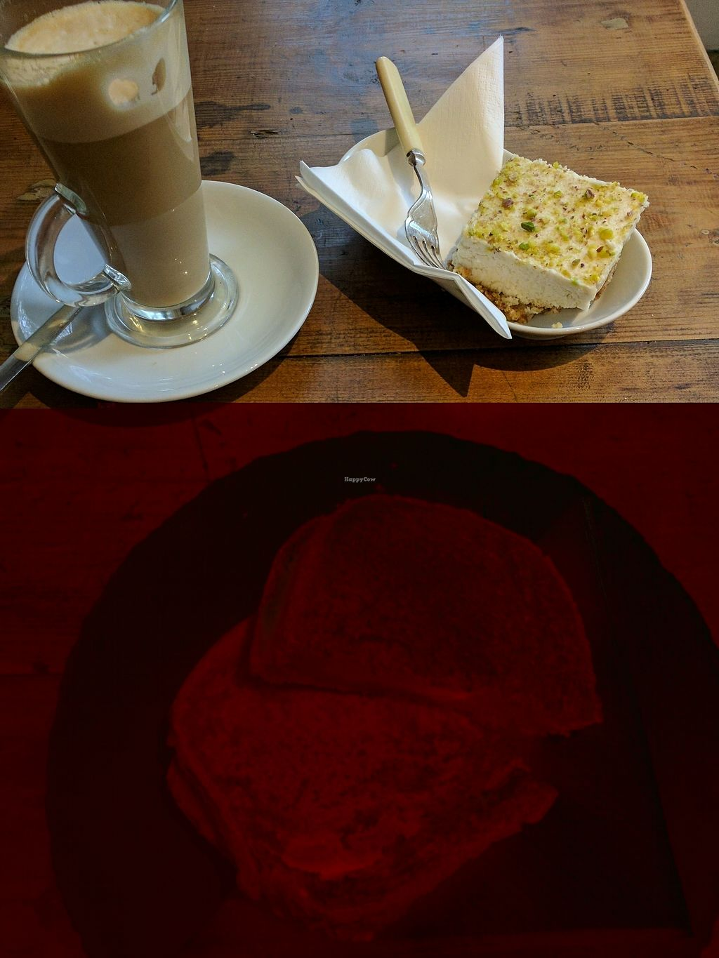 "Photo of Ground Up  by <a href=""/members/profile/JonathanTolan"">JonathanTolan</a> <br/>""cheese"" and tomato toastie and cashew cheesecake. great vegan options! <br/> November 20, 2017  - <a href='/contact/abuse/image/92747/327623'>Report</a>"