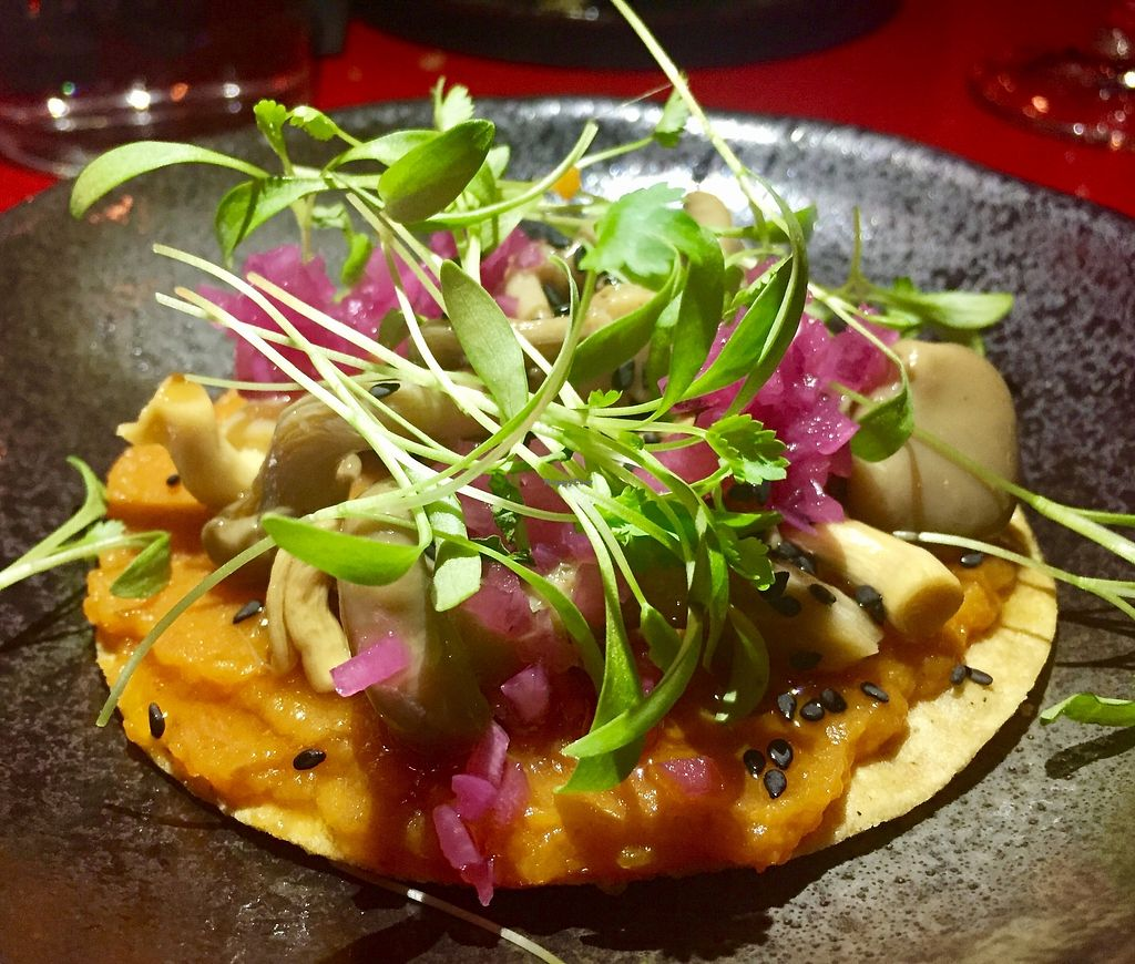 "Photo of Bad Hombres  by <a href=""/members/profile/karlaess"">karlaess</a> <br/>Mushroom tostada  <br/> August 12, 2017  - <a href='/contact/abuse/image/92757/291740'>Report</a>"
