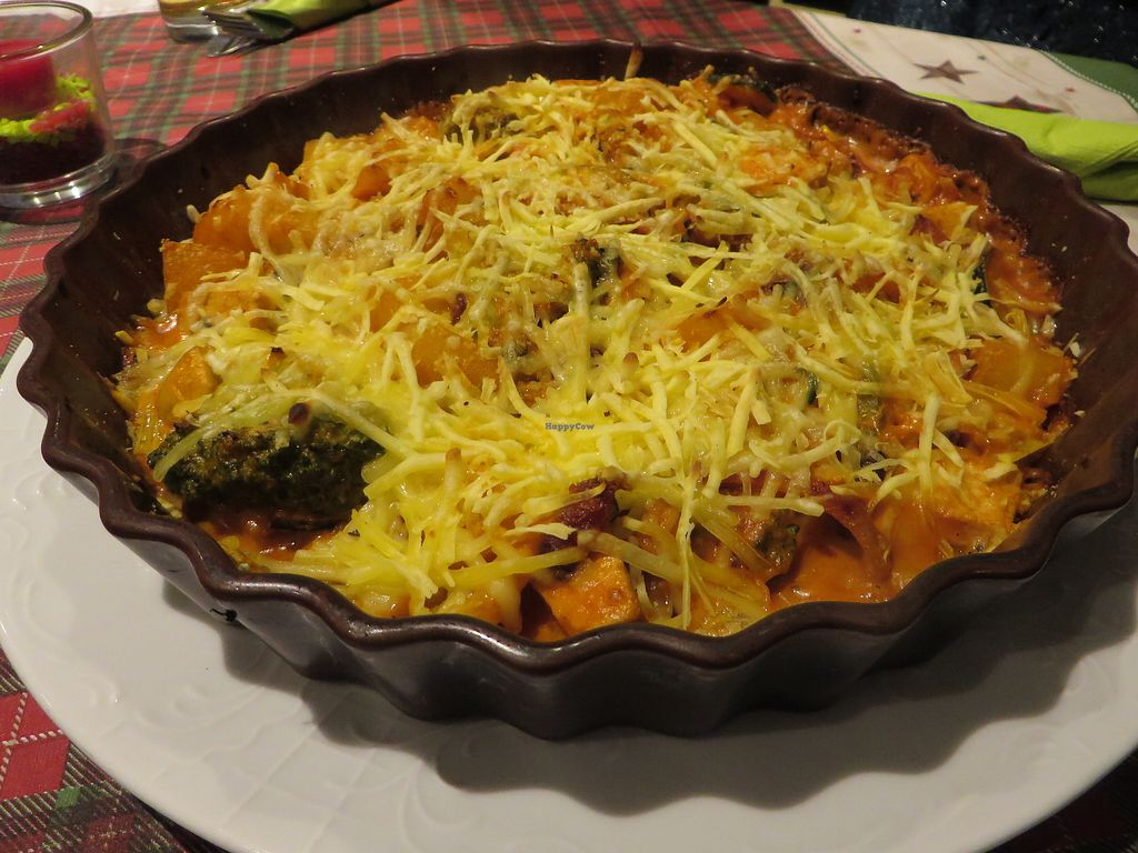"""Photo of Veggie House  by <a href=""""/members/profile/VegiAnna"""">VegiAnna</a> <br/>No. 110 """"Veggie House Auflauf"""" (oven bake) (vegan) <br/> December 26, 2017  - <a href='/contact/abuse/image/92758/339172'>Report</a>"""