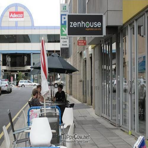 """Photo of Zenhouse Vegetarian Yum Cha   by <a href=""""/members/profile/MaitreyaBelmore"""">MaitreyaBelmore</a> <br/>Zenhouse restaurant front - tucked away on 13 Bent Street Adelaide <br/> May 9, 2010  - <a href='/contact/abuse/image/9275/4438'>Report</a>"""