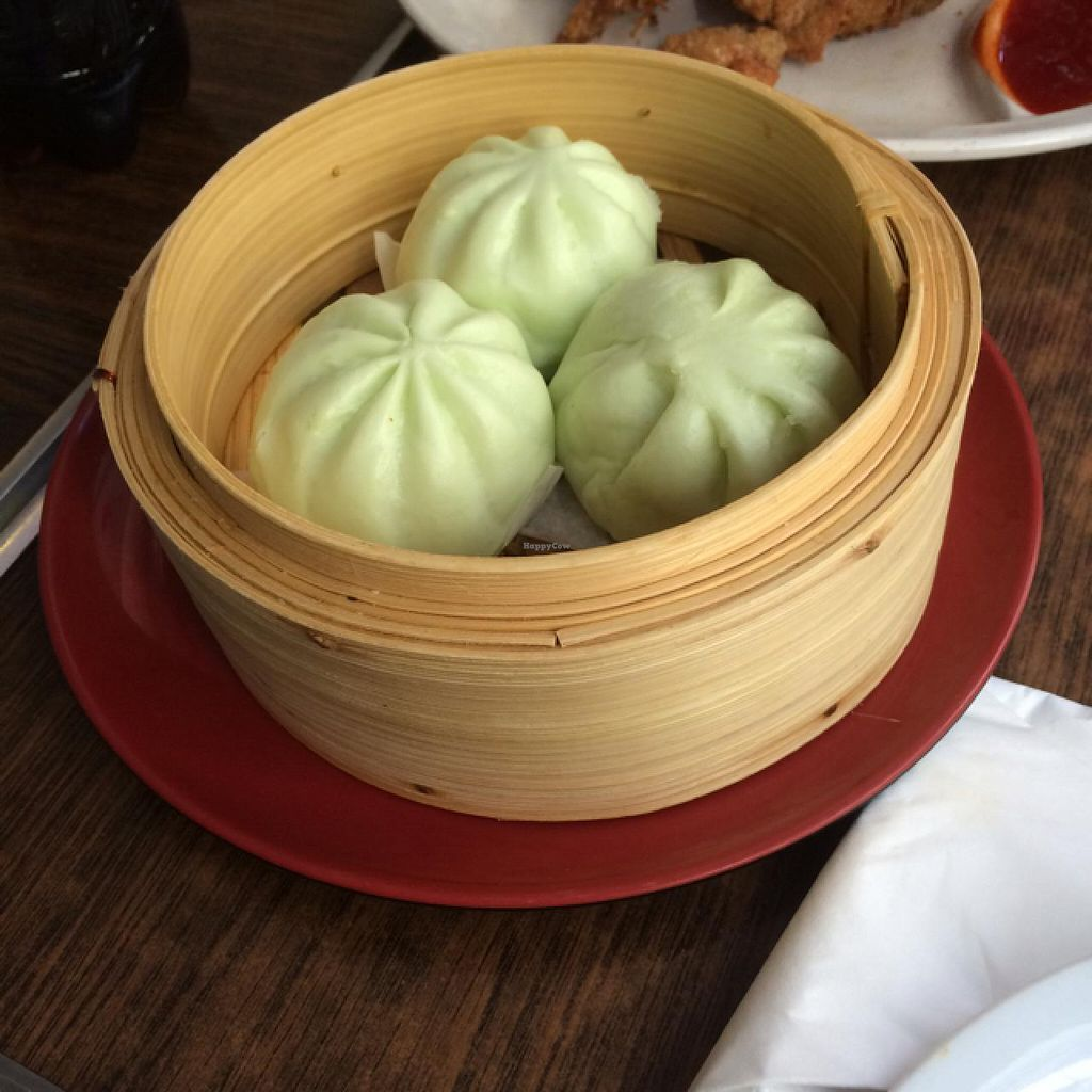 """Photo of Zenhouse Vegetarian Yum Cha   by <a href=""""/members/profile/Adro84"""">Adro84</a> <br/>Pandan Lotus Steamed Buns <br/> March 20, 2015  - <a href='/contact/abuse/image/9275/96354'>Report</a>"""