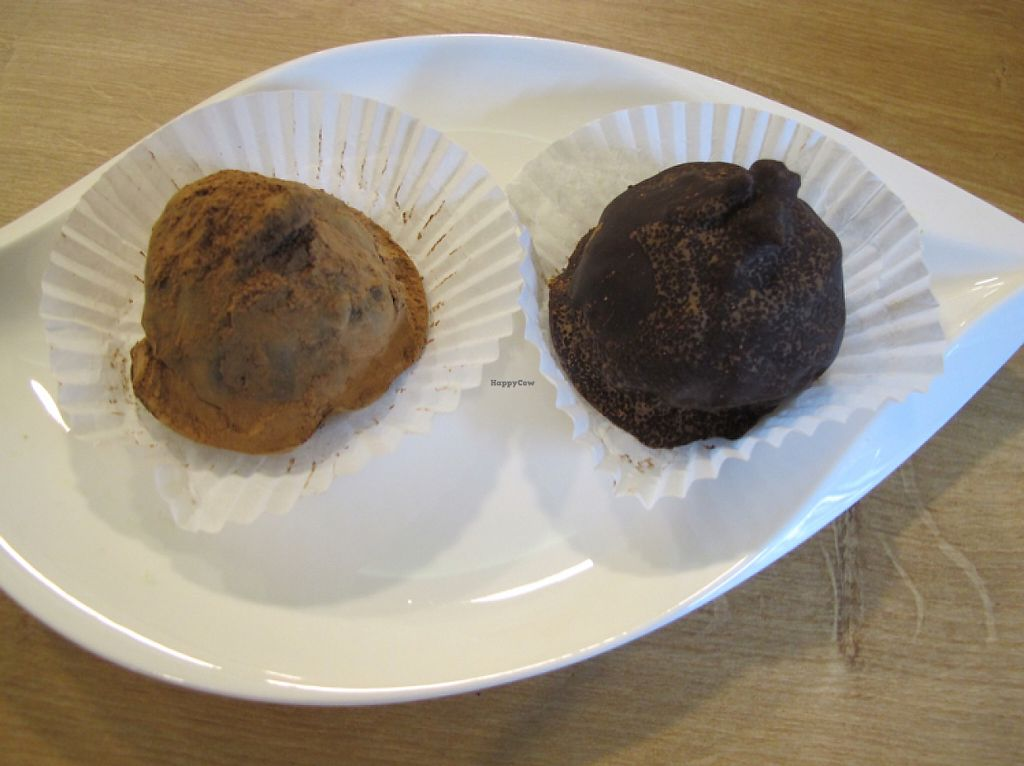 """Photo of Elmira  by <a href=""""/members/profile/Josef"""">Josef</a> <br/>Elmira's heavenly stuffed organic dried Fairtrade chocolate figs, cocoa dusted  <br/> May 26, 2017  - <a href='/contact/abuse/image/92771/262607'>Report</a>"""