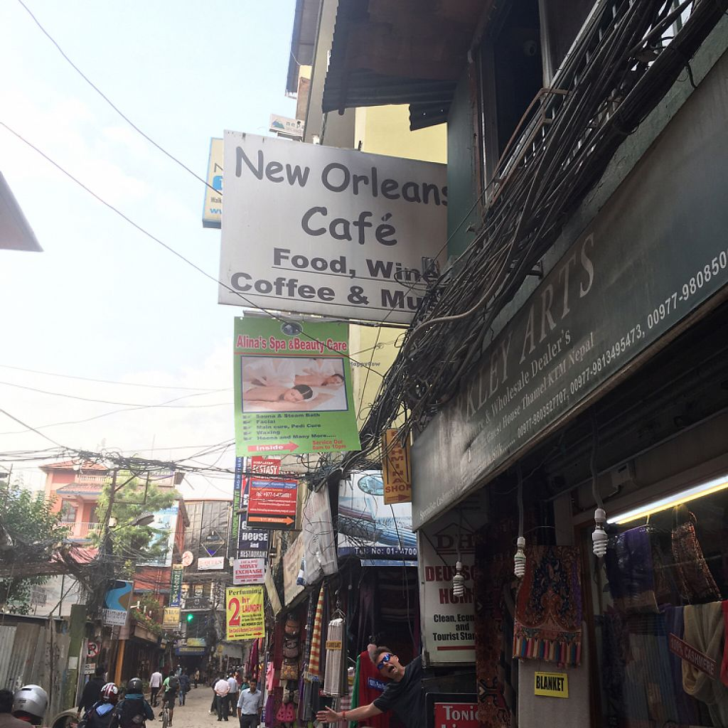 """Photo of New Orleans Café & Wine Bar  by <a href=""""/members/profile/Yuliya"""">Yuliya</a> <br/>entrance from the west side, main road. there is also another entrance from the passage.  <br/> May 26, 2017  - <a href='/contact/abuse/image/92775/262641'>Report</a>"""
