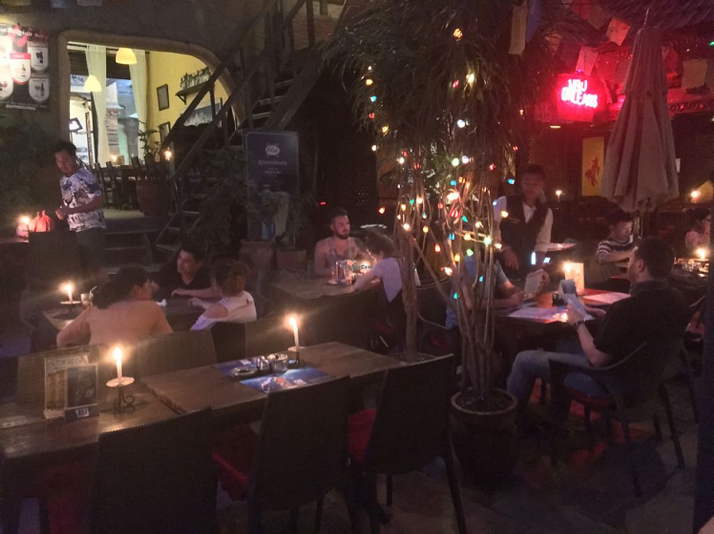 """Photo of New Orleans Café & Wine Bar  by <a href=""""/members/profile/Yuliya"""">Yuliya</a> <br/>Twice a week life music <br/> May 26, 2017  - <a href='/contact/abuse/image/92775/262643'>Report</a>"""