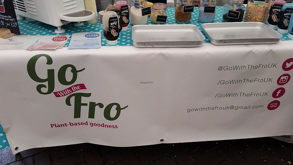"""Photo of Go With The Fro  by <a href=""""/members/profile/konlish"""">konlish</a> <br/>Stall Bristol Vegan Fest 21 May2017 <br/> May 25, 2017  - <a href='/contact/abuse/image/92796/262465'>Report</a>"""