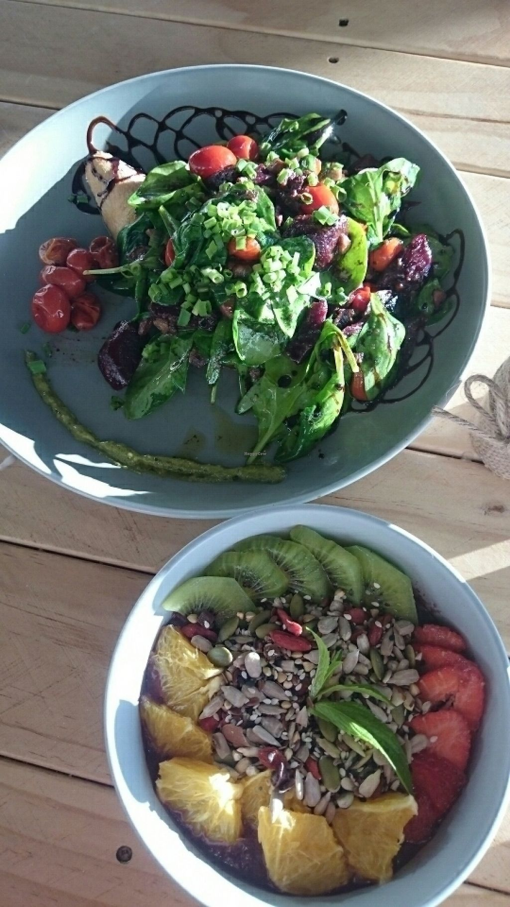 """Photo of Coco + Boho  by <a href=""""/members/profile/Cynthia1998"""">Cynthia1998</a> <br/>acai bowl and the roasted beetroot mushroom plate <br/> May 28, 2017  - <a href='/contact/abuse/image/92825/263250'>Report</a>"""