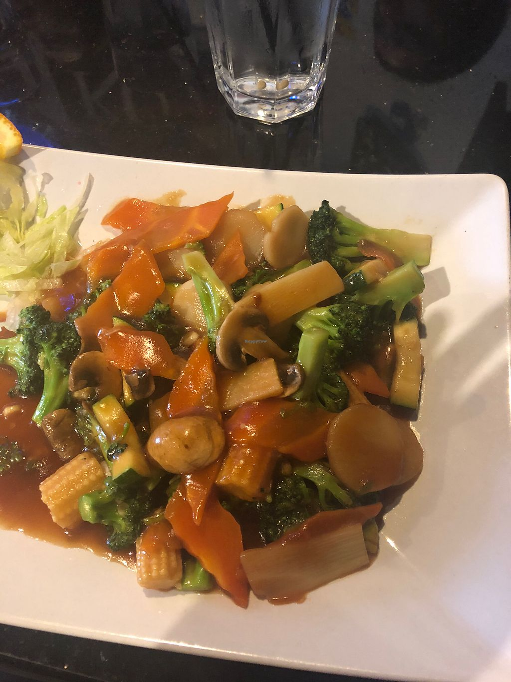 """Photo of Oriental Bistro & Grill  by <a href=""""/members/profile/alexis17"""">alexis17</a> <br/>Veggie dish <br/> April 21, 2018  - <a href='/contact/abuse/image/92839/389130'>Report</a>"""