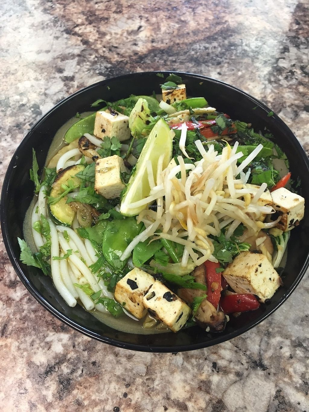 """Photo of Clean Roots Vegetarian Cuisine  by <a href=""""/members/profile/JanLandis"""">JanLandis</a> <br/>Mo' Pho <br/> May 26, 2017  - <a href='/contact/abuse/image/92842/262585'>Report</a>"""