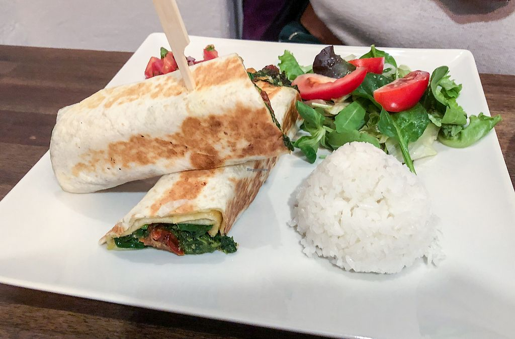 """Photo of Natureza  by <a href=""""/members/profile/leont"""">leont</a> <br/>Spinach quesadilla <br/> November 4, 2017  - <a href='/contact/abuse/image/92843/321758'>Report</a>"""