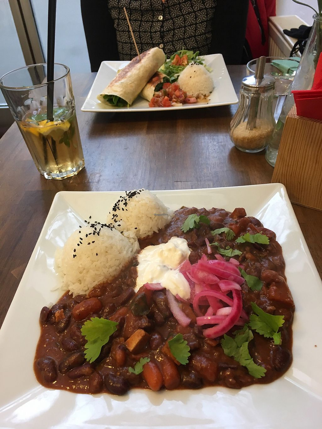 """Photo of Natureza  by <a href=""""/members/profile/LoesjeMn"""">LoesjeMn</a> <br/>Bean chili And spinach quesadila <br/> December 28, 2017  - <a href='/contact/abuse/image/92843/340179'>Report</a>"""
