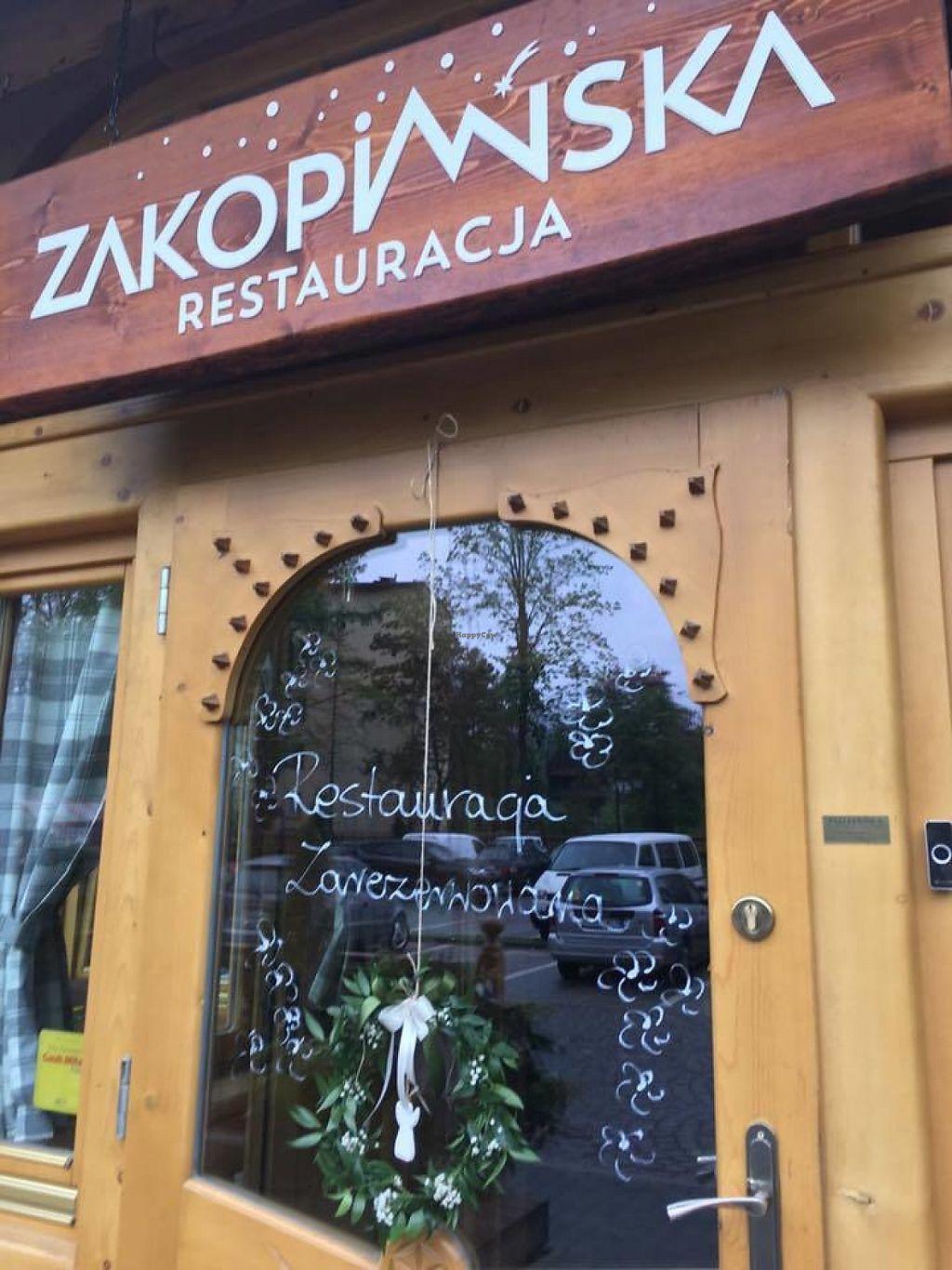 "Photo of Restauracja Zakopiańska  by <a href=""/members/profile/community5"">community5</a> <br/>Restauracja Zakopiańska <br/> May 27, 2017  - <a href='/contact/abuse/image/92844/262942'>Report</a>"