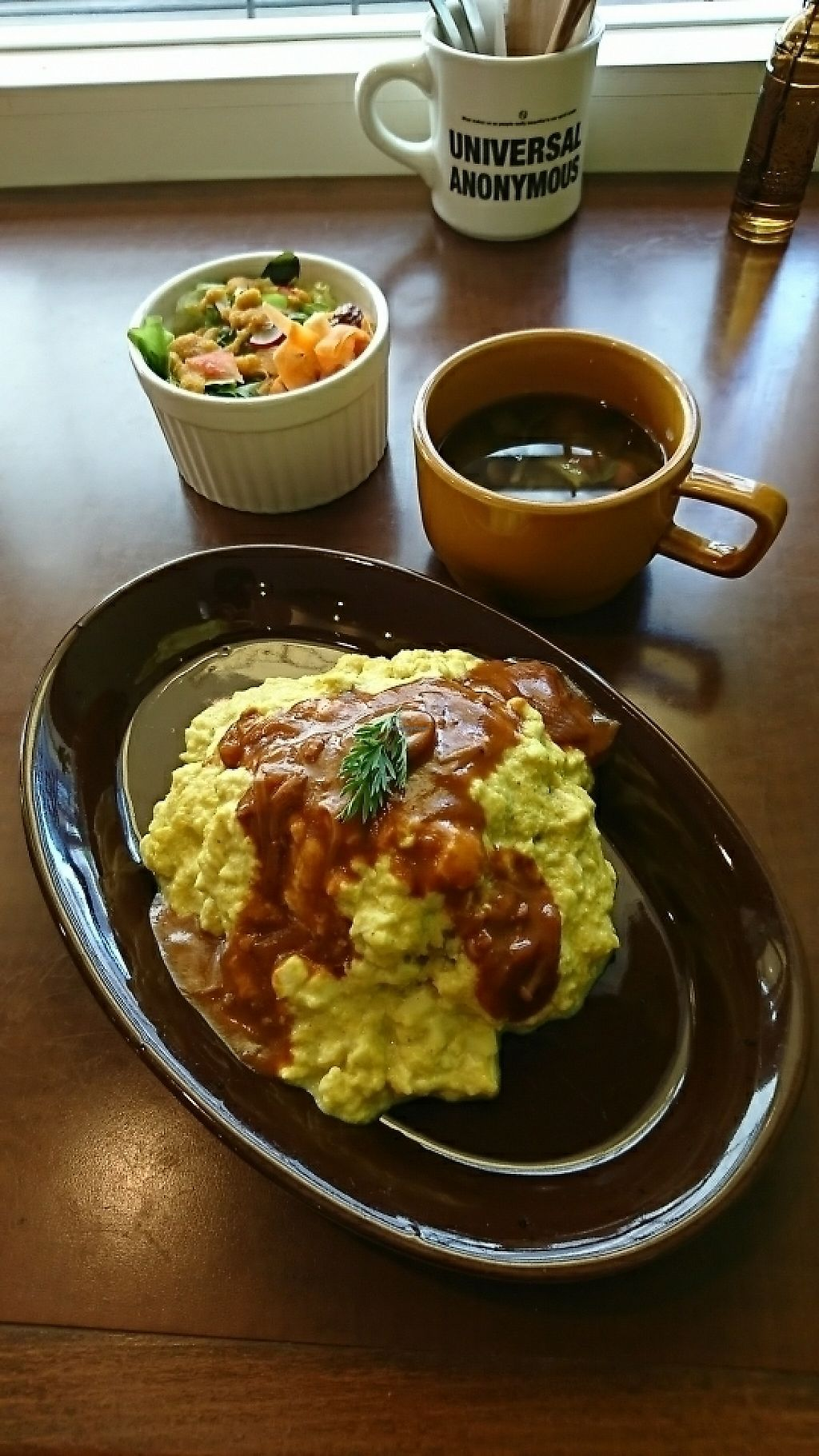 """Photo of Thallo  by <a href=""""/members/profile/moka_a"""">moka_a</a> <br/>Vegan Omelet Rice ¥1300 <br/> May 26, 2017  - <a href='/contact/abuse/image/92848/262782'>Report</a>"""