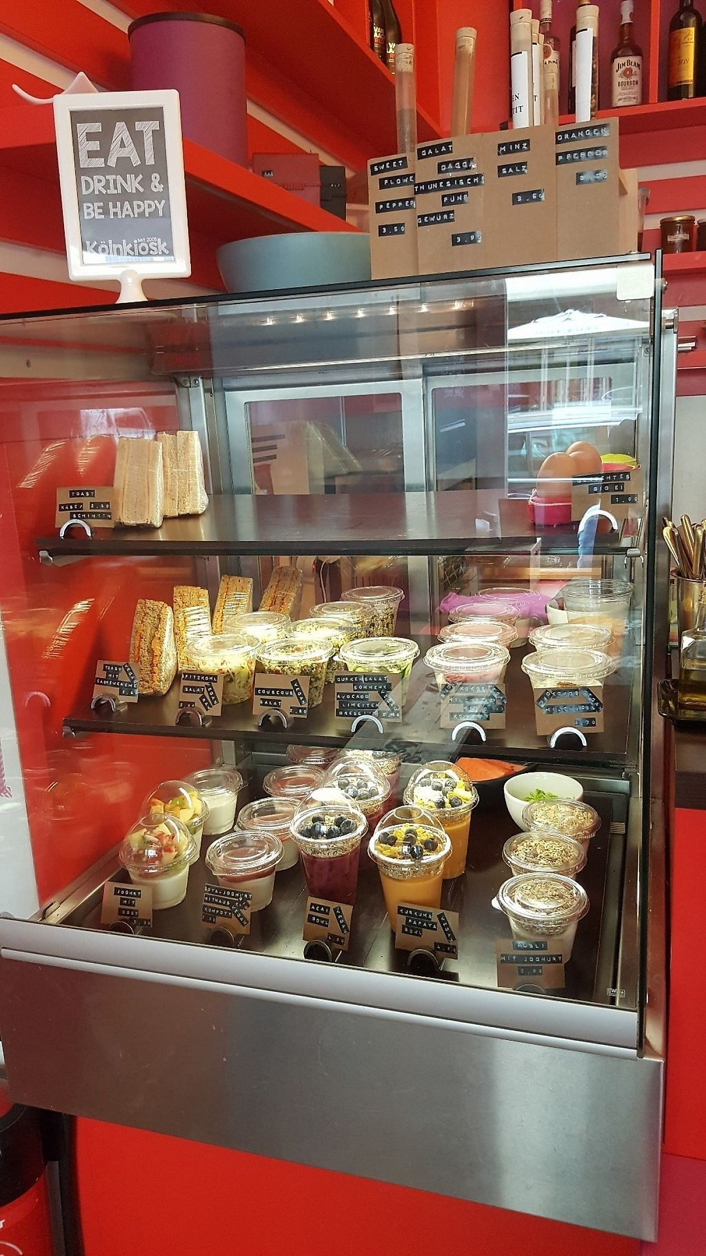 """Photo of Koln Kiosk  by <a href=""""/members/profile/TinaEstrella"""">TinaEstrella</a> <br/>Granola, fruit bowls, salads, sandwiches <br/> May 29, 2017  - <a href='/contact/abuse/image/92864/263698'>Report</a>"""
