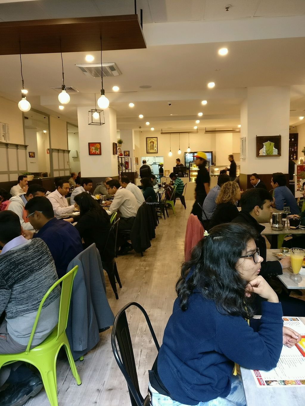 "Photo of Saravanaa Bhavan  by <a href=""/members/profile/Aloo"">Aloo</a> <br/>plenty of seating <br/> October 31, 2017  - <a href='/contact/abuse/image/92869/320336'>Report</a>"