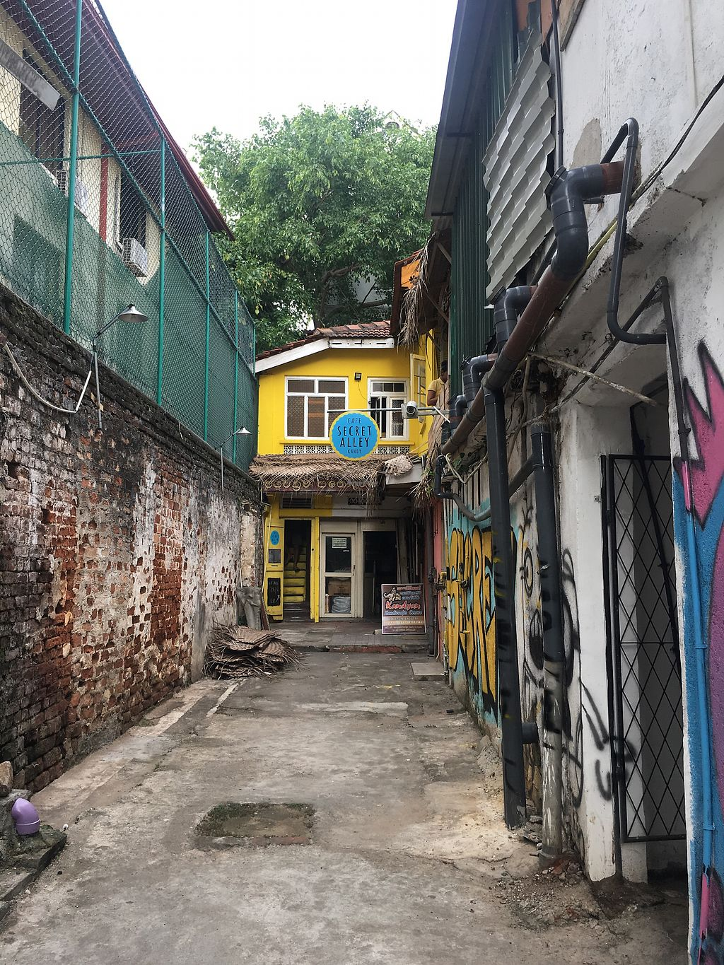 """Photo of Cafe Secret Alley  by <a href=""""/members/profile/rhebay"""">rhebay</a> <br/>entrance <br/> July 27, 2017  - <a href='/contact/abuse/image/92904/285356'>Report</a>"""