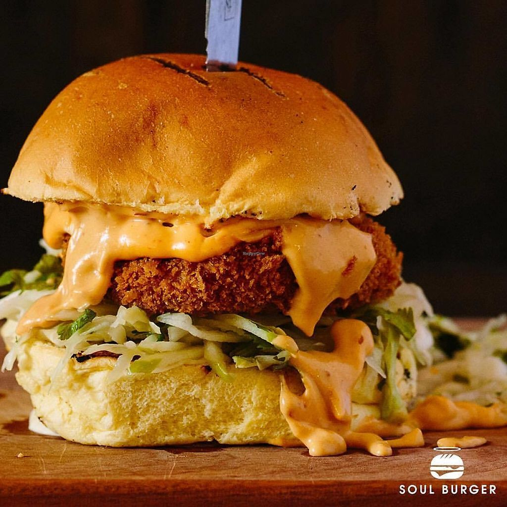 """Photo of Soul Burger  by <a href=""""/members/profile/Amit%20-%20SoulB%20Chief"""">Amit - SoulB Chief</a> <br/>Southern Fried Chicken  <br/> May 31, 2017  - <a href='/contact/abuse/image/92906/264492'>Report</a>"""