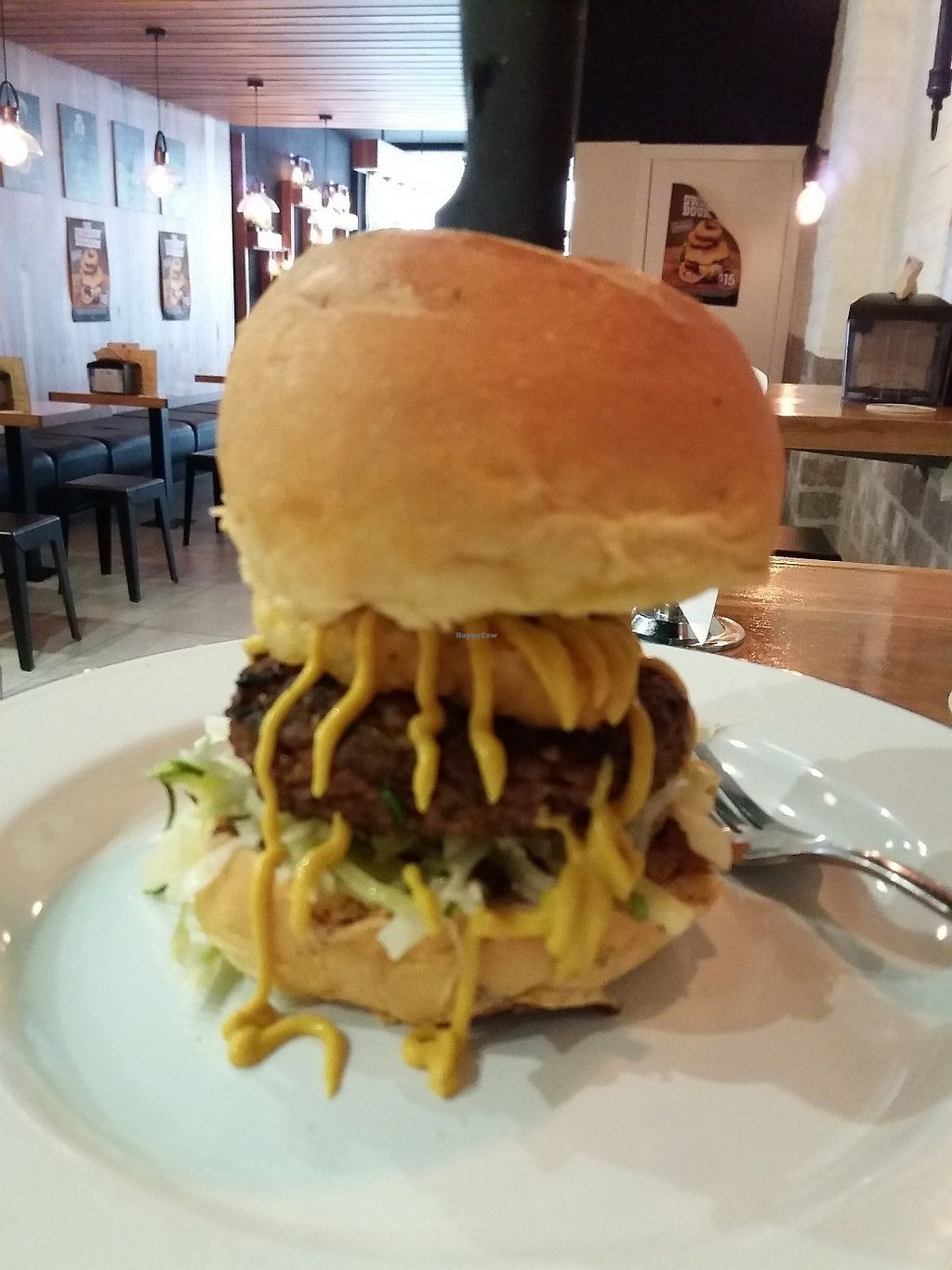 """Photo of Soul Burger  by <a href=""""/members/profile/veganvirtues"""">veganvirtues</a> <br/>The American Badass <br/> June 8, 2017  - <a href='/contact/abuse/image/92906/266843'>Report</a>"""