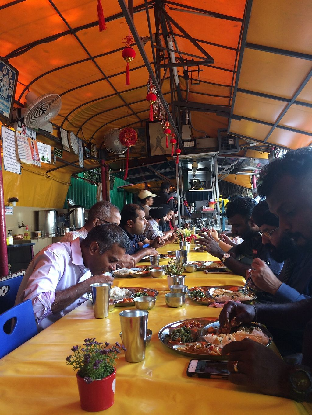 "Photo of Gerai Makanan  by <a href=""/members/profile/LaurenceMontreuil"">LaurenceMontreuil</a> <br/>one single long table to eat <br/> January 31, 2018  - <a href='/contact/abuse/image/9292/353118'>Report</a>"