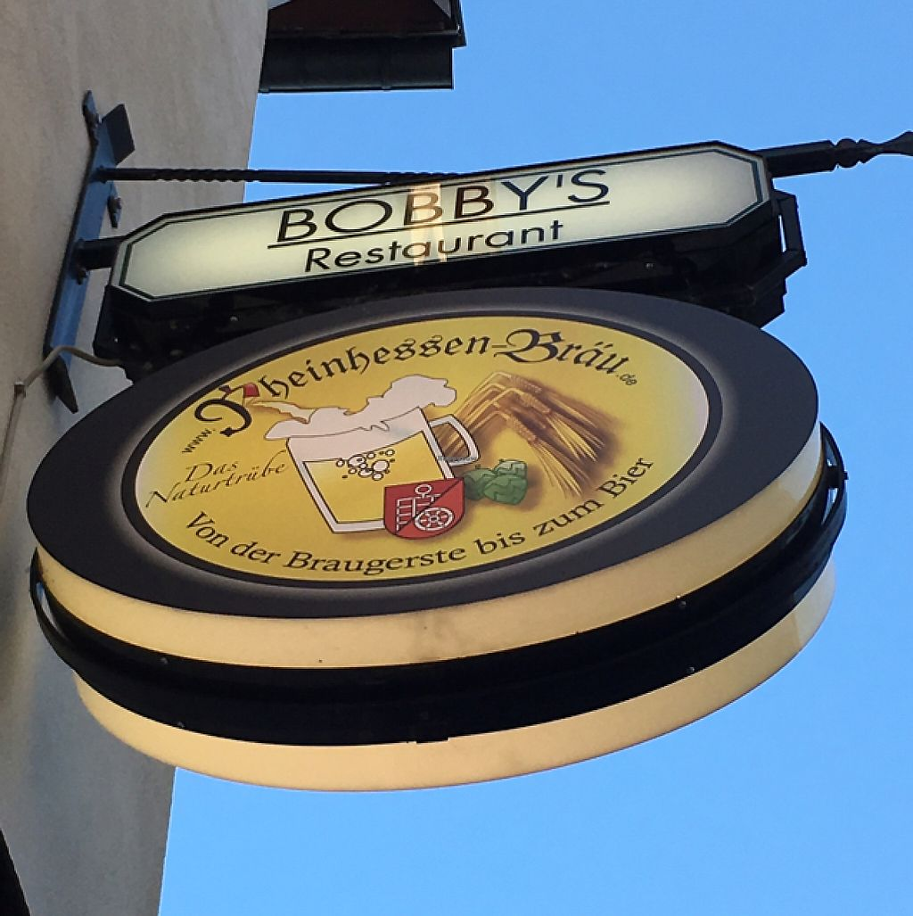 "Photo of Bobby's Restaurant  by <a href=""/members/profile/ck-africa"">ck-africa</a> <br/>one of the few places in Mainz to try the local beer is Bobby's <br/> May 29, 2017  - <a href='/contact/abuse/image/92937/263685'>Report</a>"