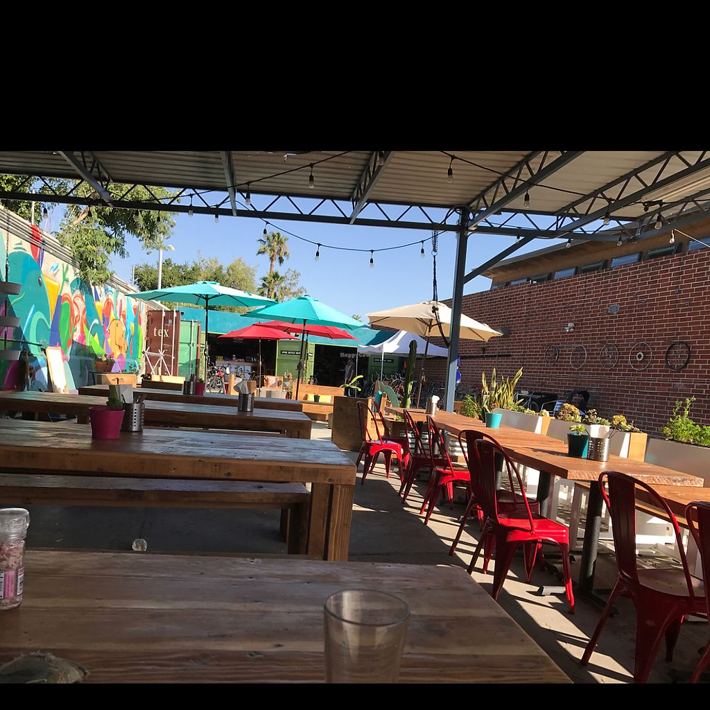 """Photo of Spoke Bicycle Cafe  by <a href=""""/members/profile/imjeffro"""">imjeffro</a> <br/>all outdoor seating (w shade) <br/> June 3, 2017  - <a href='/contact/abuse/image/92958/265178'>Report</a>"""