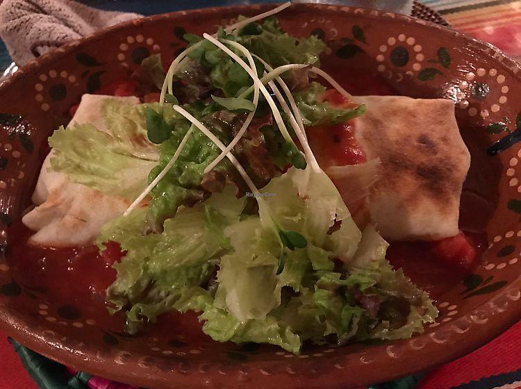 "Photo of Mexican Kitchen Bar MU  by <a href=""/members/profile/lemurcat"">lemurcat</a> <br/>vegan burrito <br/> June 24, 2017  - <a href='/contact/abuse/image/92979/272925'>Report</a>"