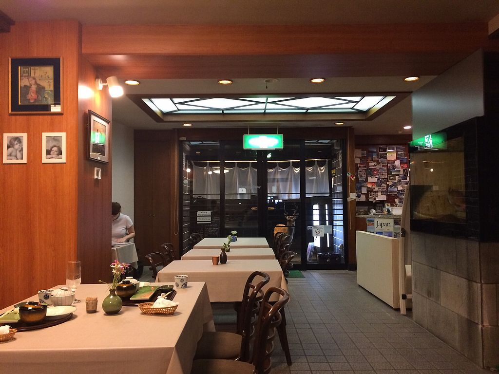 "Photo of Yamaichi Bekkan  by <a href=""/members/profile/AnomalousAtra"">AnomalousAtra</a> <br/>Miyajima deer peering through the front door while we ate <br/> November 24, 2017  - <a href='/contact/abuse/image/92985/328789'>Report</a>"