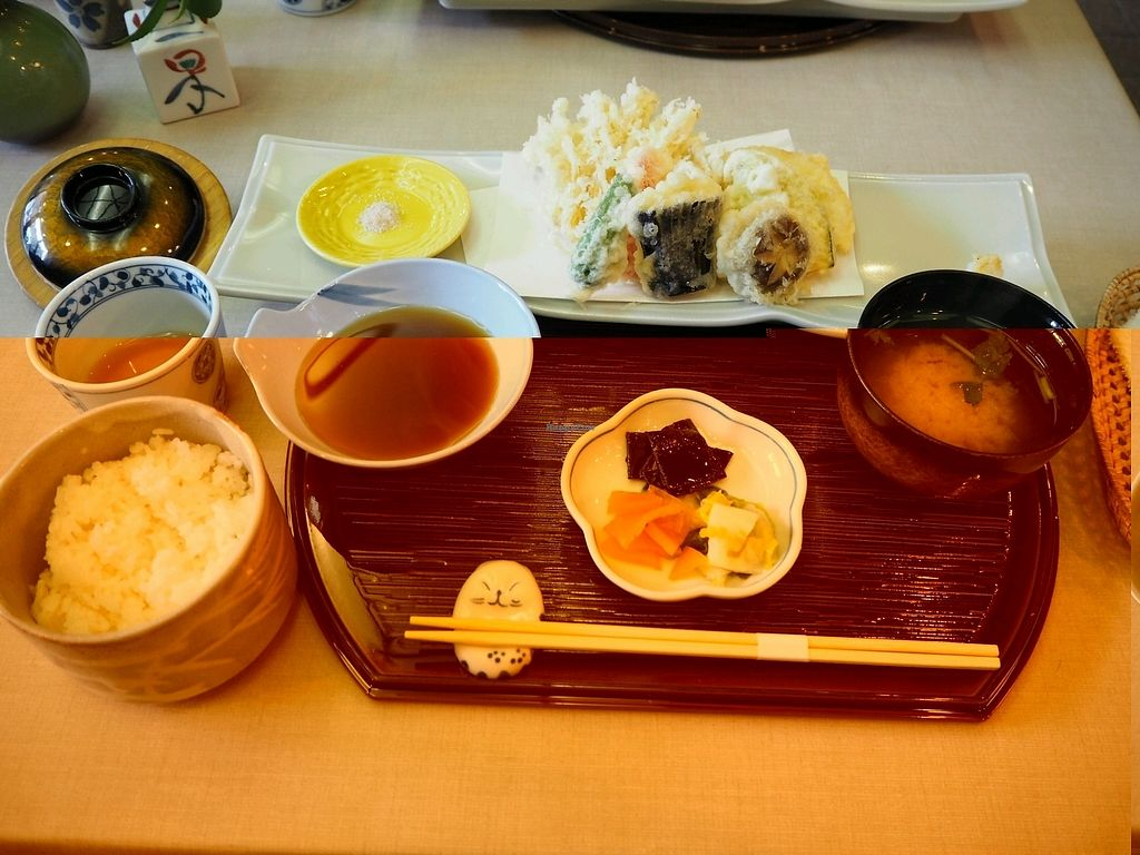 "Photo of Yamaichi Bekkan  by <a href=""/members/profile/JanineBarthel"">JanineBarthel</a> <br/>vegan tempura lunch <br/> December 6, 2017  - <a href='/contact/abuse/image/92985/332771'>Report</a>"