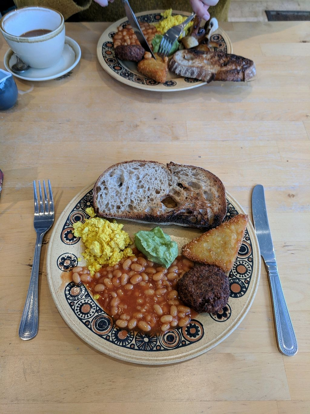 "Photo of DANA  by <a href=""/members/profile/kvalentine"">kvalentine</a> <br/>Vegan half breakfast with scrambled tofu, and mushrooms replaced with avacado upon request <br/> March 11, 2018  - <a href='/contact/abuse/image/92995/369204'>Report</a>"