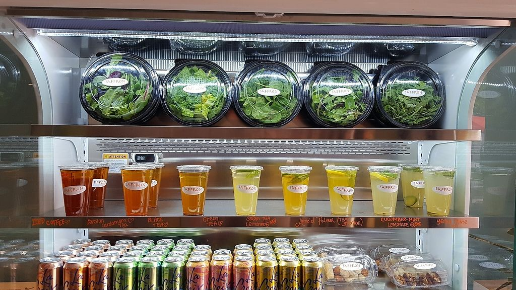 """Photo of Saffron Cafe  by <a href=""""/members/profile/SaffronMonterey"""">SaffronMonterey</a> <br/>Enjoy freh locally-grown organic salads made to order with unlimited toppings at Saffron in Monterey <br/> May 29, 2017  - <a href='/contact/abuse/image/93023/264008'>Report</a>"""