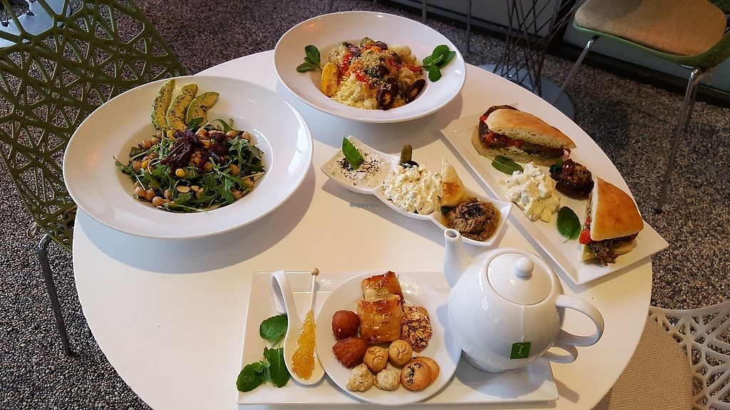 """Photo of Saffron Cafe  by <a href=""""/members/profile/SaffronMonterey"""">SaffronMonterey</a> <br/>Enjoy fresh organic Persian-inspired vegetarian meals and desserts at Saffron <br/> May 29, 2017  - <a href='/contact/abuse/image/93023/264009'>Report</a>"""