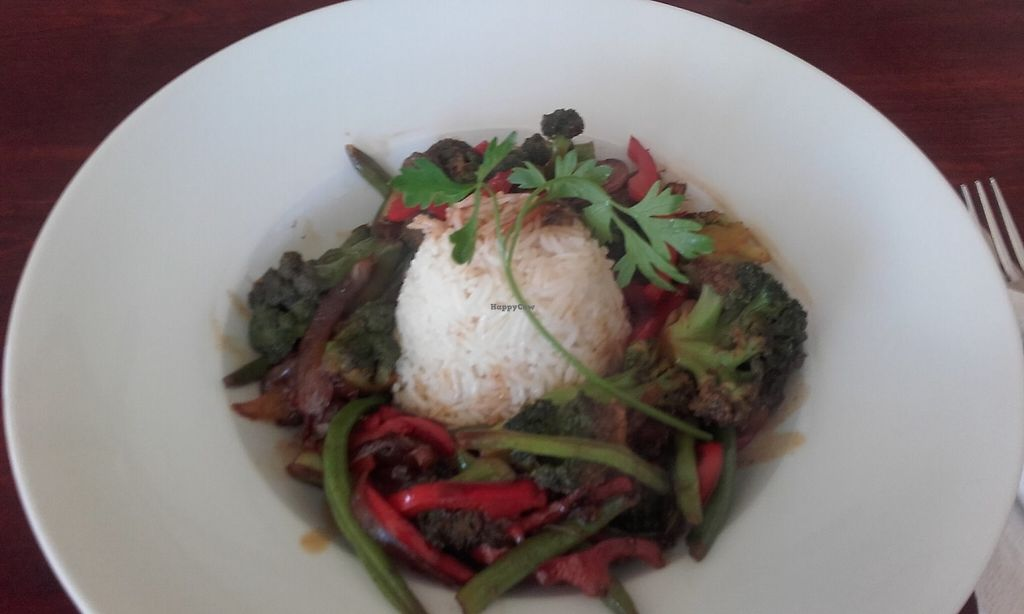 """Photo of Evilion Bistro  by <a href=""""/members/profile/EvilionBistro"""">EvilionBistro</a> <br/>Vegetable Stir Fry <br/> June 3, 2017  - <a href='/contact/abuse/image/93028/265268'>Report</a>"""