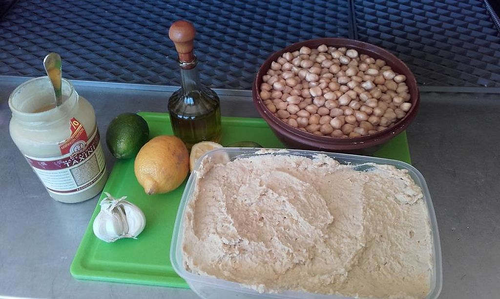 """Photo of Evilion Bistro  by <a href=""""/members/profile/EvilionBistro"""">EvilionBistro</a> <br/>Home made Hummus!!!! <br/> June 3, 2017  - <a href='/contact/abuse/image/93028/265269'>Report</a>"""