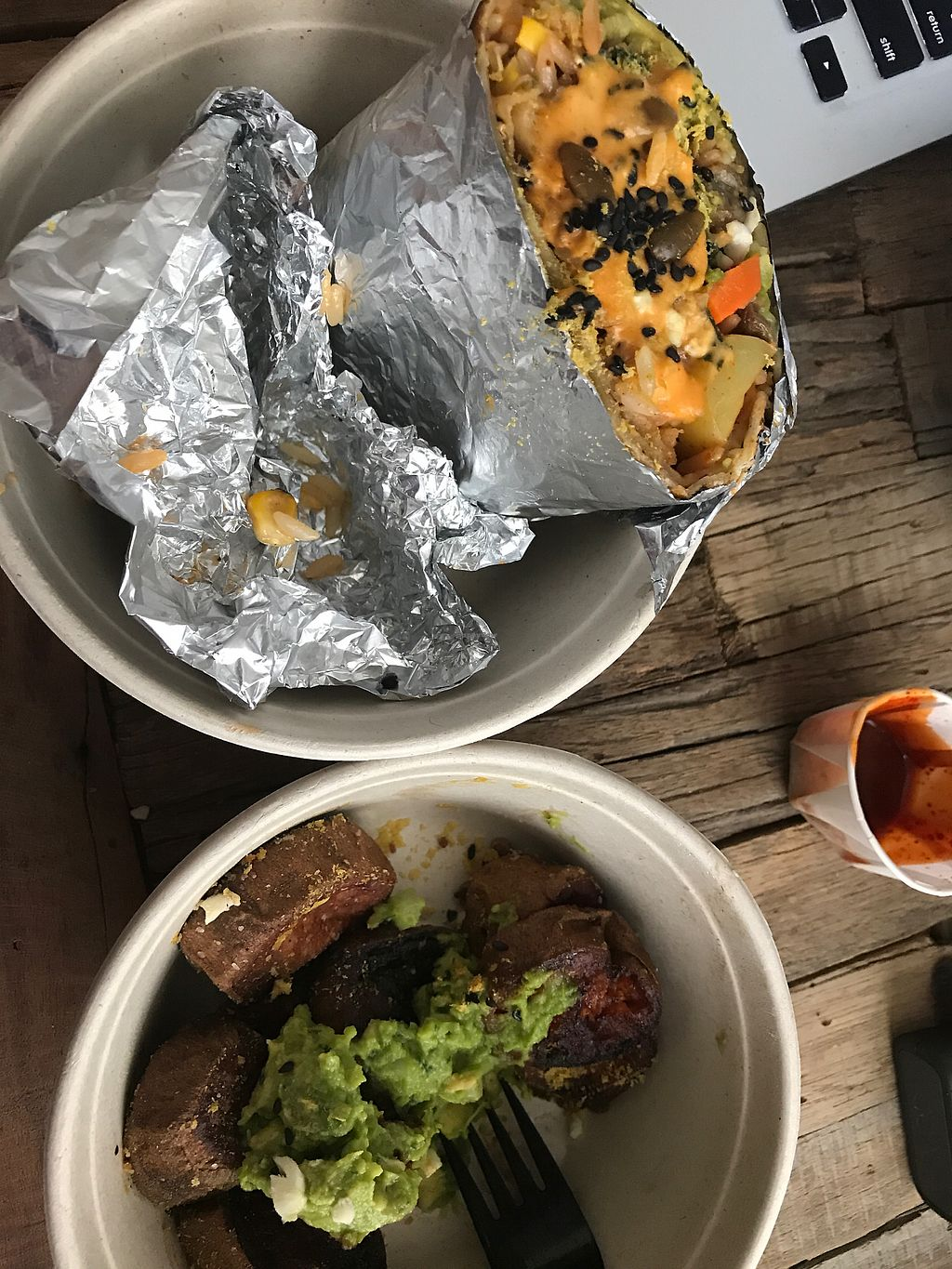 """Photo of Butterleaf  by <a href=""""/members/profile/ScottReutter"""">ScottReutter</a> <br/>burrito and fries <br/> July 10, 2017  - <a href='/contact/abuse/image/93067/278502'>Report</a>"""