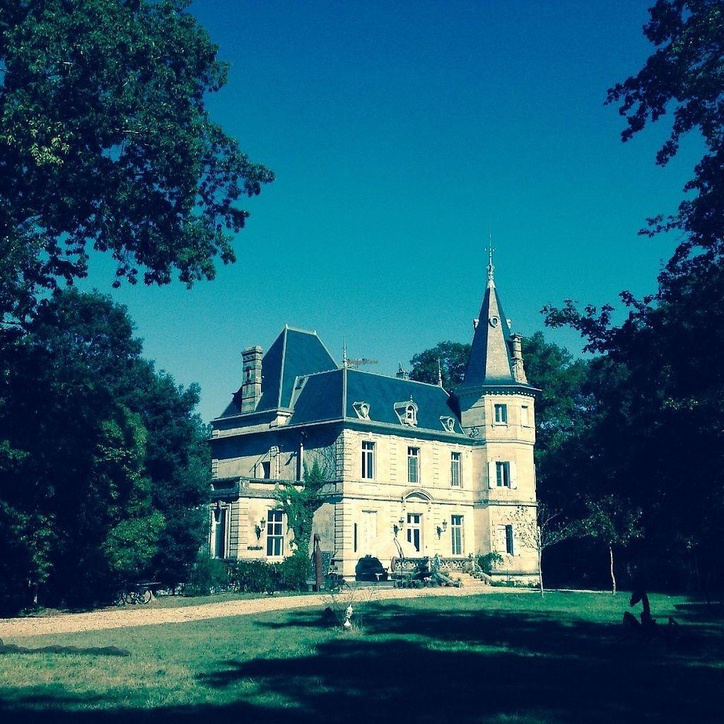"Photo of Chateau de Lagravade  by <a href=""/members/profile/metalsculptures"">metalsculptures</a> <br/>Château de Lagravade (front) Bnb vegan  Sculptures park, Textile arts www.Art-BnB.com  <br/> June 6, 2017  - <a href='/contact/abuse/image/93074/266360'>Report</a>"