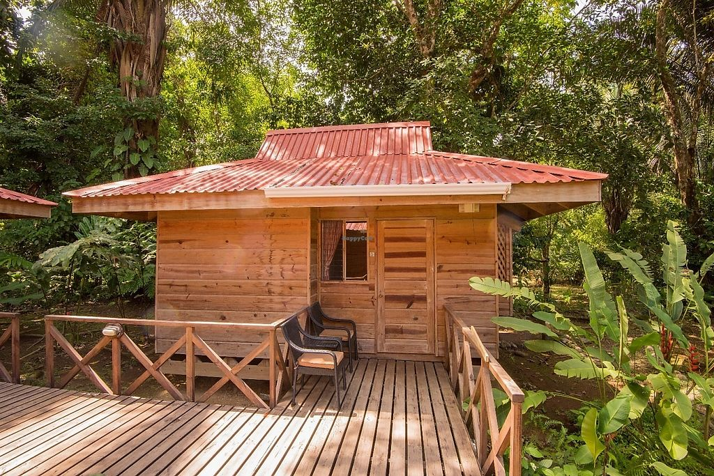 "Photo of El Mono Feliz  by <a href=""/members/profile/PatrickGrady"">PatrickGrady</a> <br/>Our family bungalow suite sleeps four and is in the heart of our jungle gardens. It has a private bath and even a small kitchen.  Our property is on a beautiful river, and has a newly refurbished outdoor pool for rejuvenation every day of the year (it's never cold in Costa Rica).  <br/> May 30, 2017  - <a href='/contact/abuse/image/93103/264272'>Report</a>"