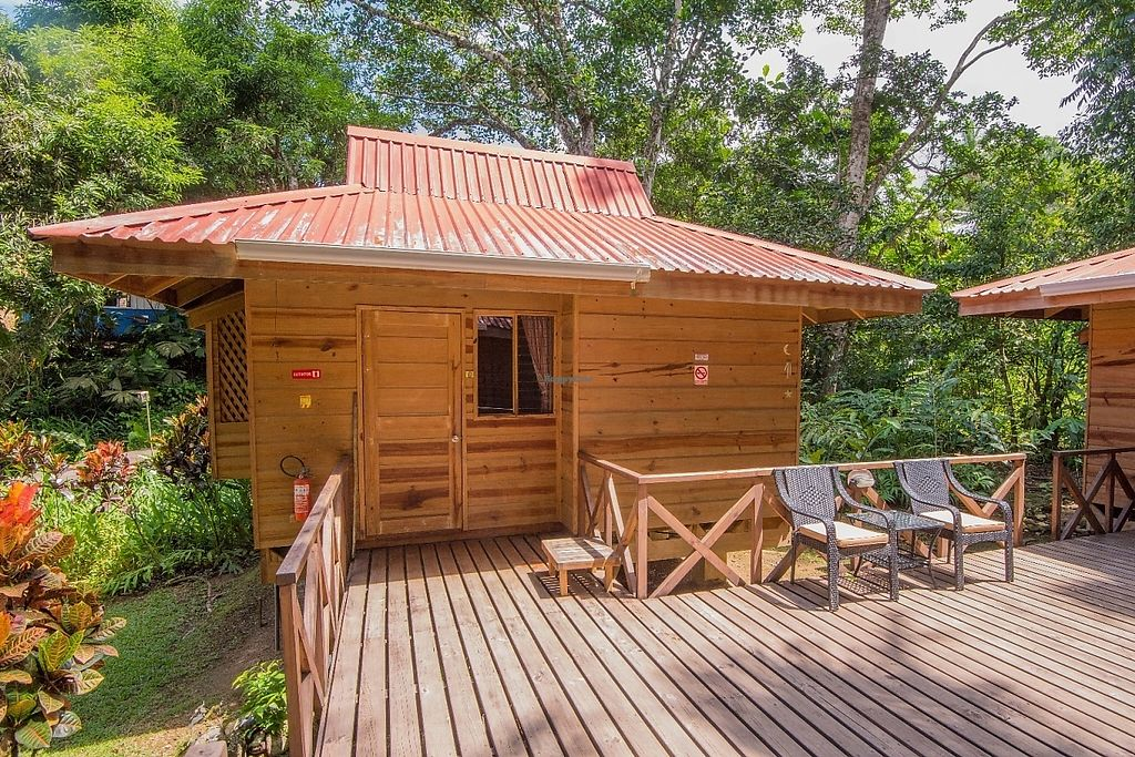 "Photo of El Mono Feliz  by <a href=""/members/profile/PatrickGrady"">PatrickGrady</a> <br/>One of our two person queen-bungalow villas sleeps two and is in the heart of our jungle gardens. It has a private bath and even a small kitchen.  Our property is on a beautiful river, and has a newly refurbished outdoor pool for rejuvenation every day of the year (it's never cold in Costa Rica).  <br/> May 30, 2017  - <a href='/contact/abuse/image/93103/264273'>Report</a>"