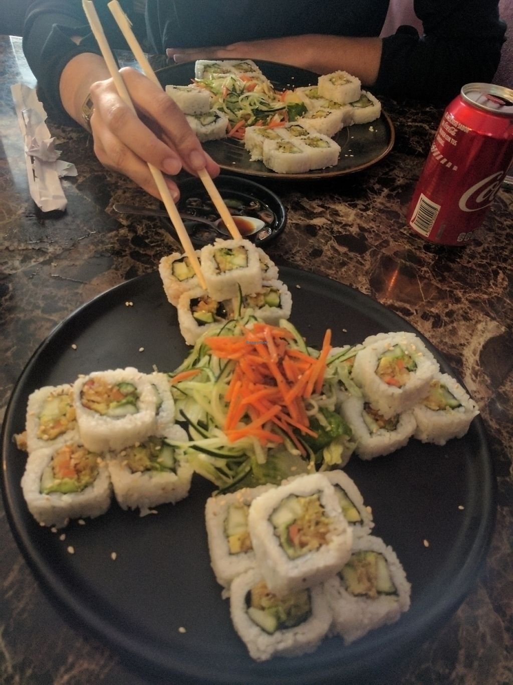 """Photo of Ke Sushi  by <a href=""""/members/profile/ali_cm17"""">ali_cm17</a> <br/>vegetarian sushi roll <br/> May 31, 2017  - <a href='/contact/abuse/image/93135/264408'>Report</a>"""