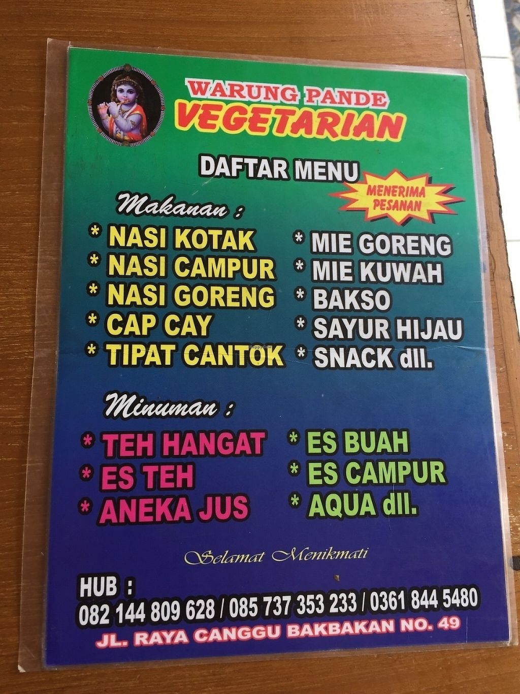 """Photo of Pande Vegetarian  by <a href=""""/members/profile/RajDollar"""">RajDollar</a> <br/>Menu inside <br/> May 31, 2017  - <a href='/contact/abuse/image/93140/264462'>Report</a>"""
