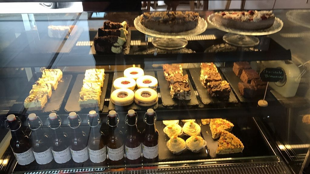 """Photo of The Honest Vegan  by <a href=""""/members/profile/thatvegancafe"""">thatvegancafe</a> <br/>Awesome dairy free cake, cupcake and traybake selection every day  <br/> June 15, 2017  - <a href='/contact/abuse/image/93146/269334'>Report</a>"""