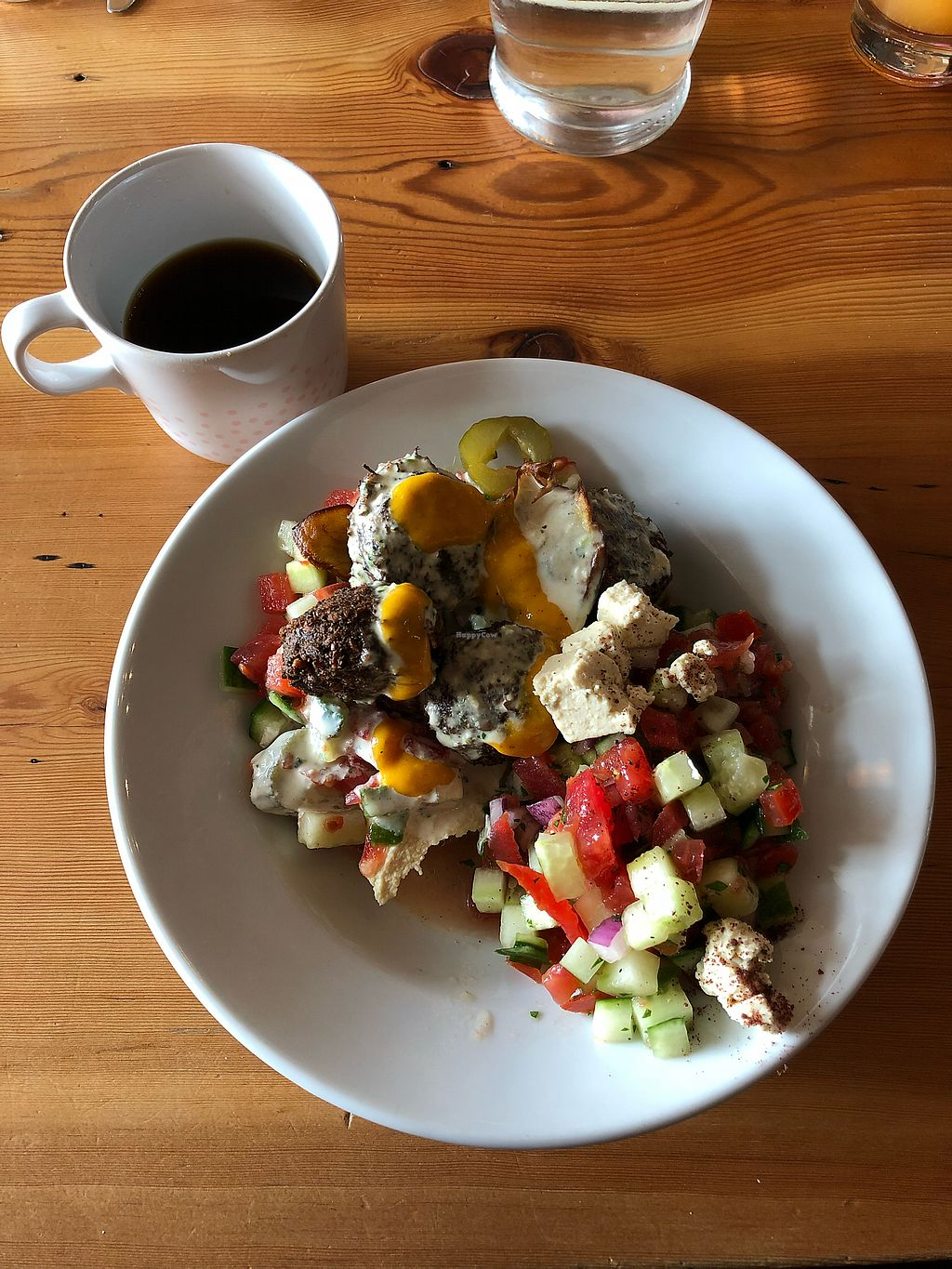 """Photo of Aviv  by <a href=""""/members/profile/kittenteeth"""">kittenteeth</a> <br/>Falafel bowl for brunch <br/> March 19, 2018  - <a href='/contact/abuse/image/93167/372745'>Report</a>"""