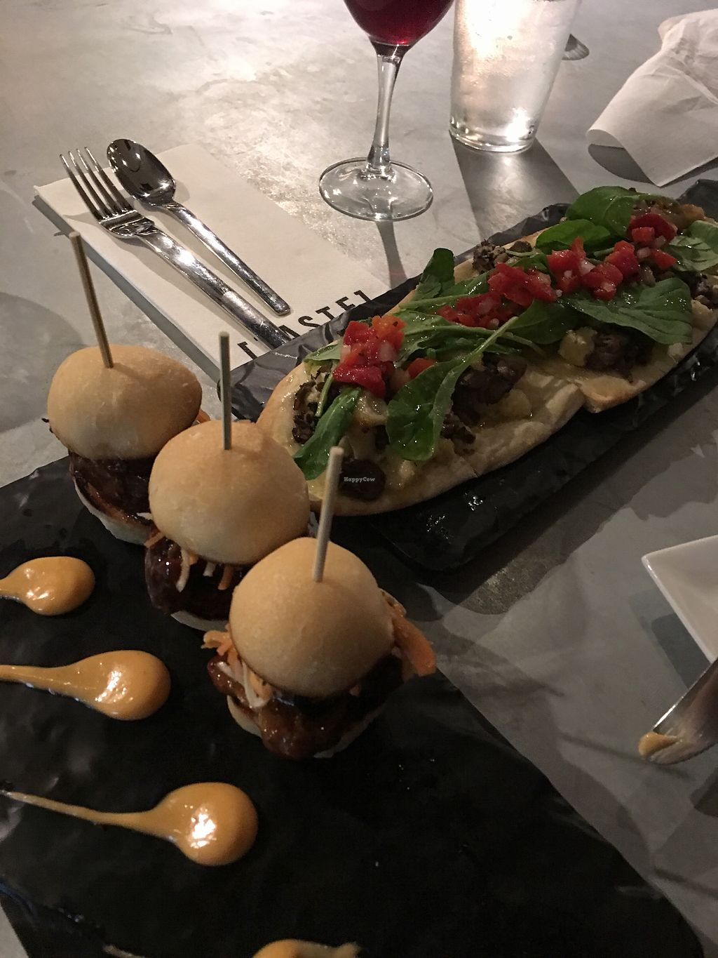 """Photo of Taste - Sand Castle Winery  by <a href=""""/members/profile/JackiN"""">JackiN</a> <br/>Short Rib Sliders and Mushroom Flat <br/> November 4, 2017  - <a href='/contact/abuse/image/93182/321845'>Report</a>"""