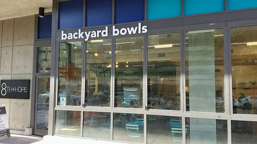 """Photo of Backyard Bowls - Downtown  by <a href=""""/members/profile/eric"""">eric</a> <br/>outside <br/> November 18, 2017  - <a href='/contact/abuse/image/93190/326815'>Report</a>"""
