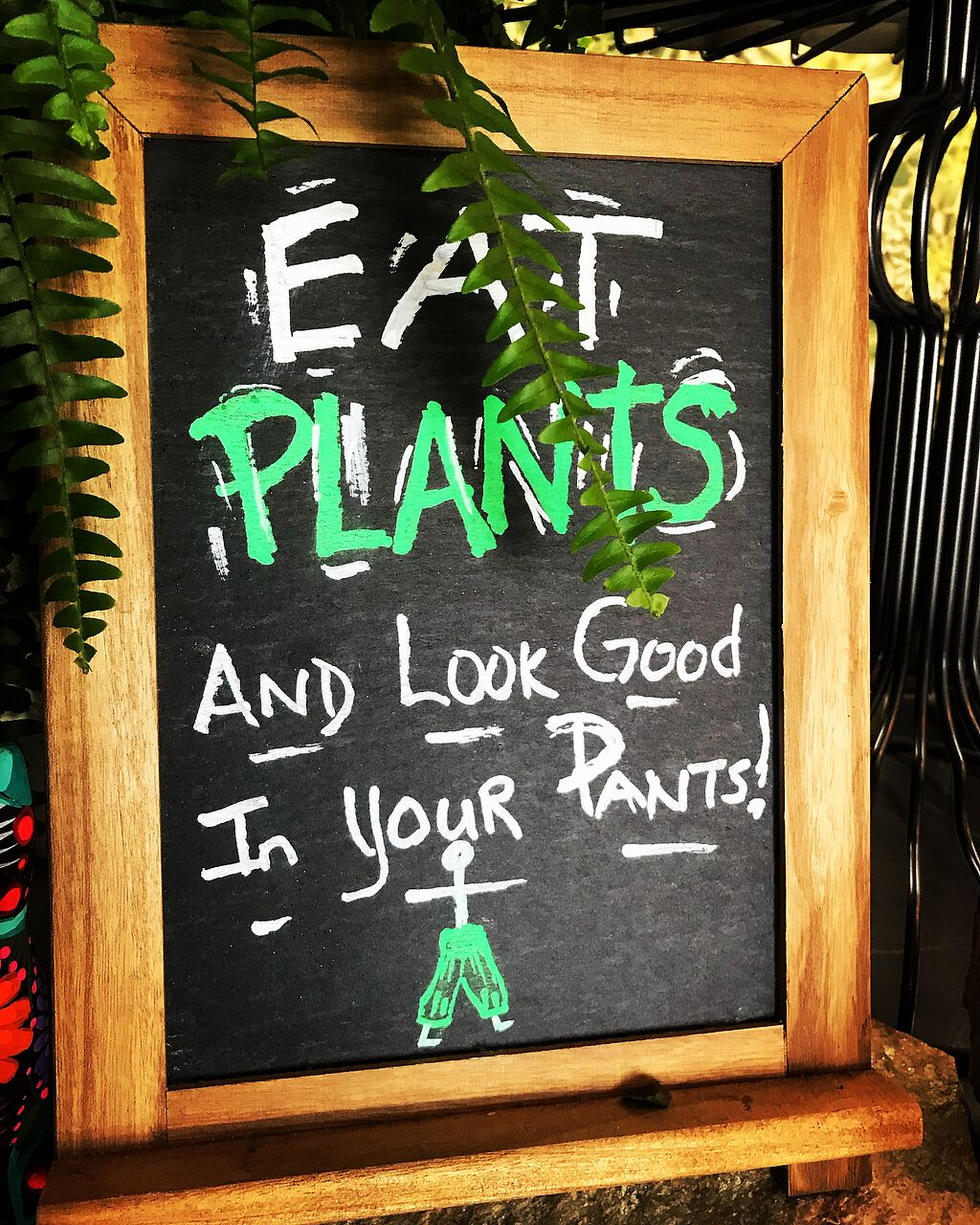 """Photo of Chef Tanya's Kitchen  by <a href=""""/members/profile/SoWo1999"""">SoWo1999</a> <br/>Eat plants! <br/> March 17, 2018  - <a href='/contact/abuse/image/93206/371656'>Report</a>"""