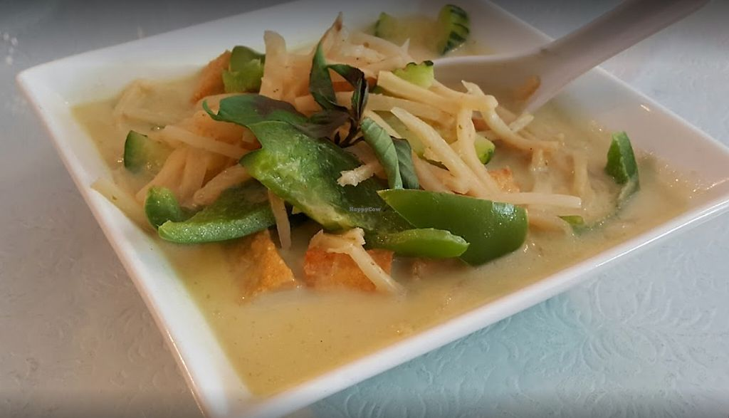 """Photo of Thai Siam Cuisine  by <a href=""""/members/profile/community5"""">community5</a> <br/>Green curry with tofu <br/> June 1, 2017  - <a href='/contact/abuse/image/93207/264737'>Report</a>"""
