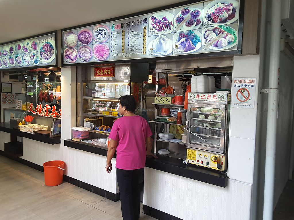 Photo of Penang Pancake  by linrx <br/>The stall is vegetarian but it also hosts another that sells pork <br/> June 2, 2017  - <a href='/contact/abuse/image/93219/264941'>Report</a>