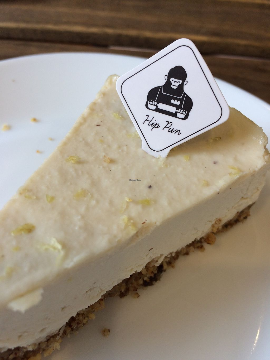 """Photo of Hip Pun  by <a href=""""/members/profile/JesseFletcher"""">JesseFletcher</a> <br/>Vegan cheesycake at NT85 a slice <br/> October 20, 2017  - <a href='/contact/abuse/image/93222/316827'>Report</a>"""