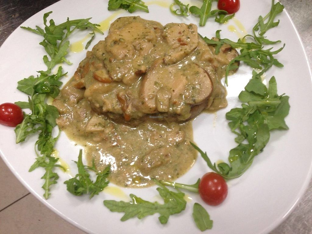 "Photo of Marcellos of Douglas  by <a href=""/members/profile/community5"">community5</a> <br/>Seitan escalopes with porcini mushroom <br/> June 1, 2017  - <a href='/contact/abuse/image/93227/264806'>Report</a>"