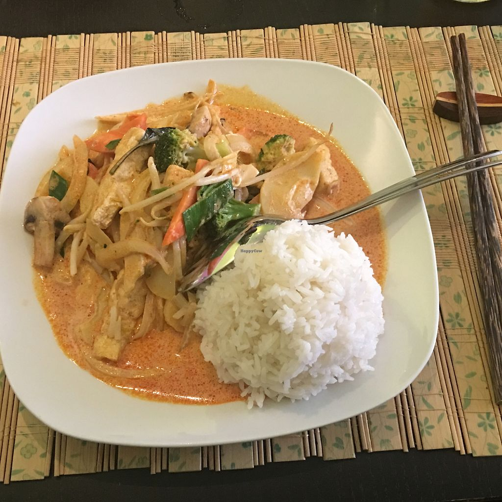 """Photo of Pho3mien  by <a href=""""/members/profile/AndyT"""">AndyT</a> <br/>Thai red curry (special request, vegan) <br/> June 6, 2017  - <a href='/contact/abuse/image/93299/266273'>Report</a>"""
